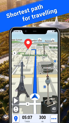 Offline Maps GPS Navigation amp Driving Directions v3.5 screenshots 1