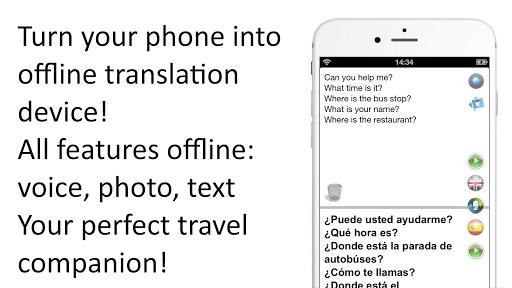 Offline Translator Spanish-English Free Translate v2.9710 screenshots 1