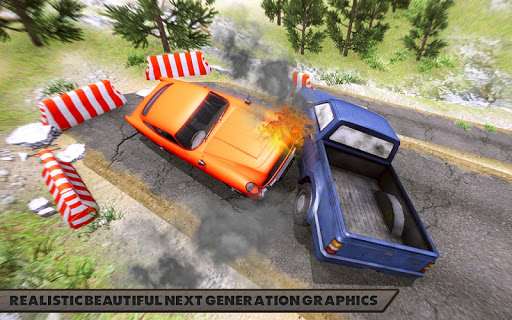 Offroad Car Crash Simulator Beam Drive v1.1 screenshots 1
