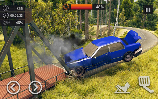 Offroad Car Crash Simulator Beam Drive v1.1 screenshots 2
