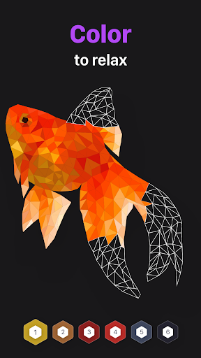 POLYGON Coloring-Book Poly Art by Numbers v2.2 screenshots 1