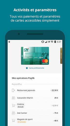 Paiement mobile CA v7.0.10 screenshots 2
