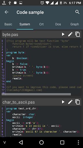 Pascal N-IDE – Editor And Compiler – Programming v4.3.2 screenshots 4