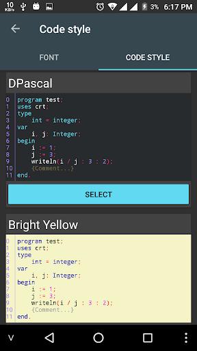Pascal N-IDE – Editor And Compiler – Programming v4.3.2 screenshots 5