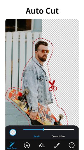 Photo Editor with Background Eraser-MagiCut v4.5.4.1 screenshots 1