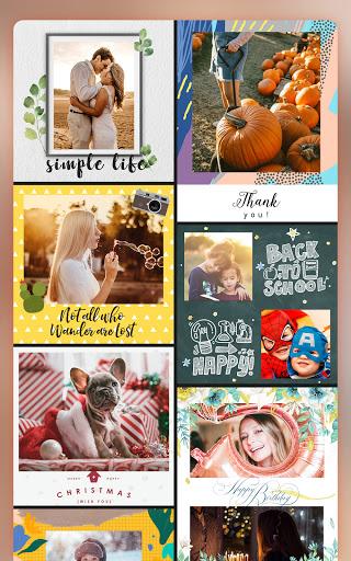 Pic Collage Maker Photo Editor – FotoCollage v5.6.5 screenshots 9