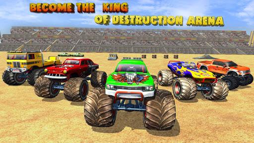 Police Demolition Derby Monster Truck Crash Games v3.3 screenshots 17