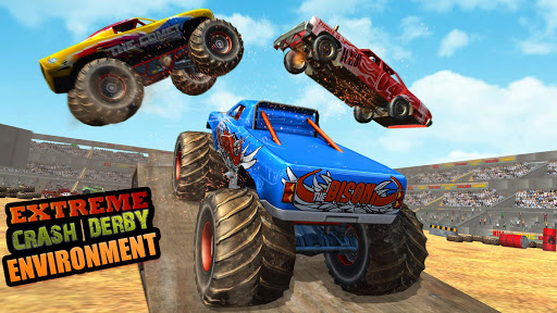 Police Demolition Derby Monster Truck Crash Games v3.3 screenshots 2