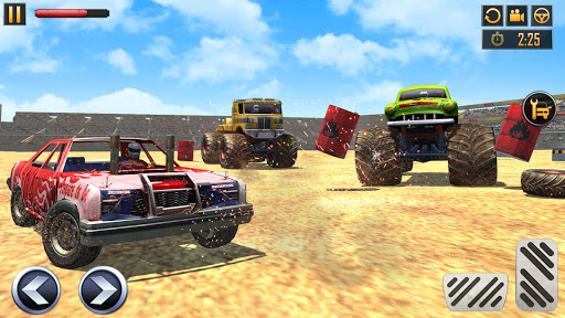 Police Demolition Derby Monster Truck Crash Games v3.3 screenshots 22
