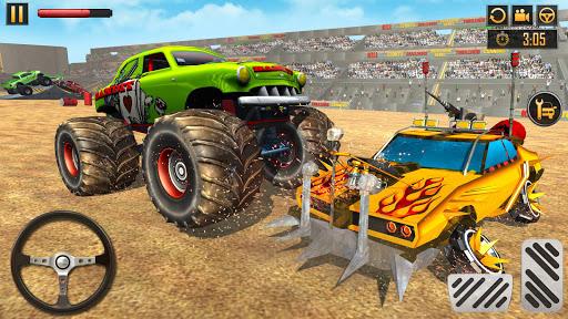 Police Demolition Derby Monster Truck Crash Games v3.3 screenshots 4