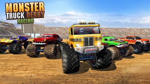 Police Demolition Derby Monster Truck Crash Games v3.3 screenshots 6