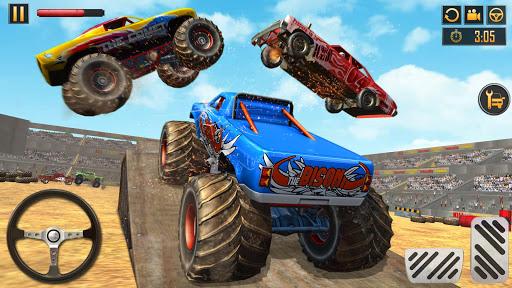 Police Demolition Derby Monster Truck Crash Games v3.3 screenshots 8