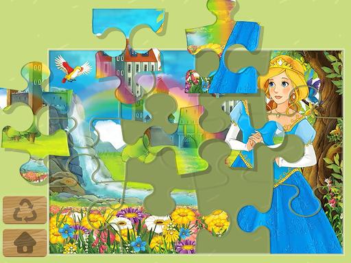 Princess Puzzles and Painting v4.3 screenshots 1