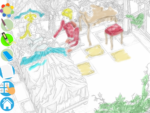 Princess Puzzles and Painting v4.3 screenshots 11