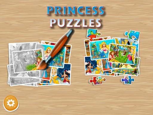 Princess Puzzles and Painting v4.3 screenshots 13