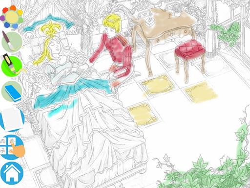 Princess Puzzles and Painting v4.3 screenshots 19
