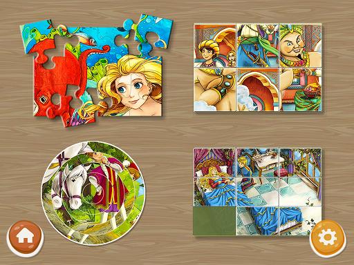 Princess Puzzles and Painting v4.3 screenshots 2
