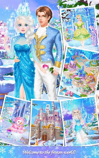 Princess Salon Frozen Party v1.1.8 screenshots 2