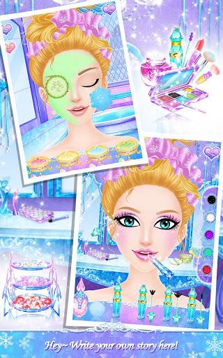 Princess Salon Frozen Party v1.1.8 screenshots 4