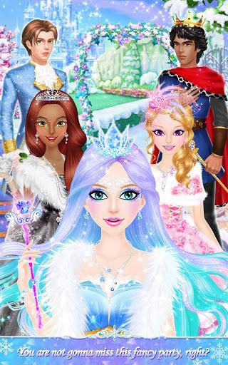 Princess Salon Frozen Party v1.1.8 screenshots 6