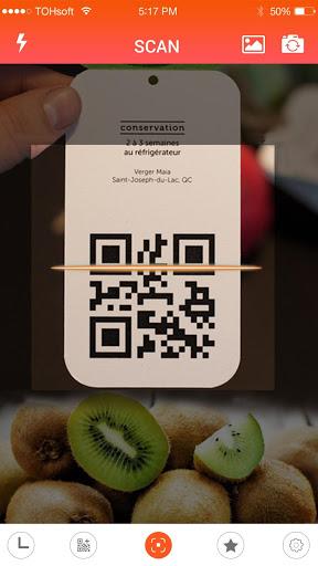 QR code reader v1.18.48 screenshots 1