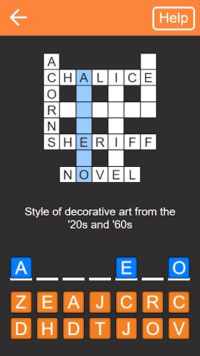 Quick Crosswords English v1.5.3 screenshots 1
