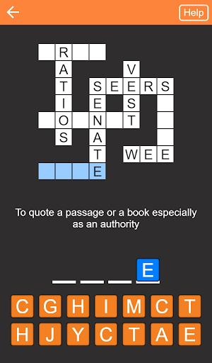 Quick Crosswords English v1.5.3 screenshots 5