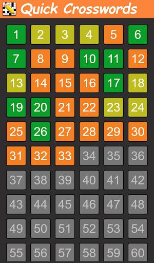 Quick Crosswords English v1.5.3 screenshots 6