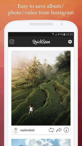 QuickSave for Instagram v2.4.1 screenshots 1