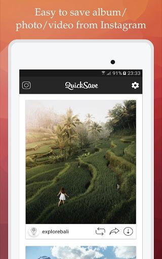 QuickSave for Instagram v2.4.1 screenshots 4