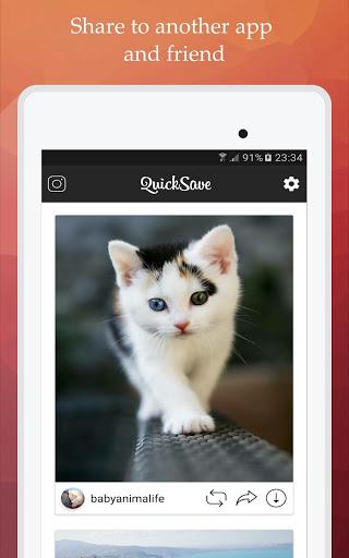 QuickSave for Instagram v2.4.1 screenshots 7