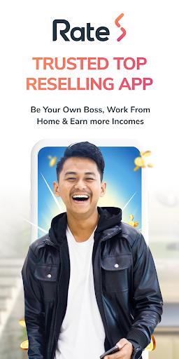 RateS – Be a reseller Earn Money amp Bonus v3.11.5 screenshots 1
