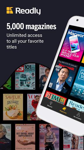 Readly – Unlimited Magazine Reading v5.3.0 screenshots 1
