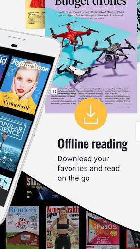 Readly – Unlimited Magazine Reading v5.3.0 screenshots 2