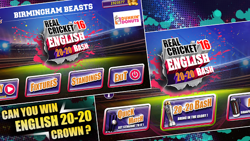 Real Cricket 16 English Bash v1.7 screenshots 4