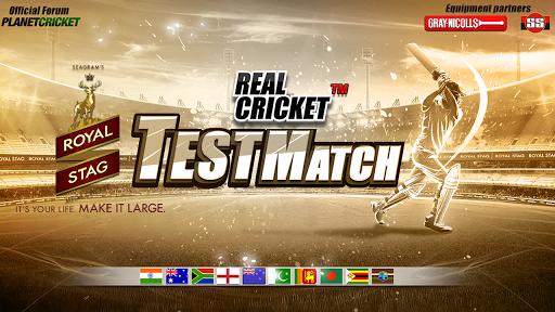 Real Cricket Test Match v1.0.7 screenshots 1