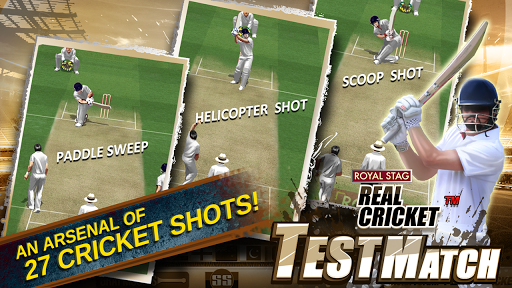 Real Cricket Test Match v1.0.7 screenshots 4