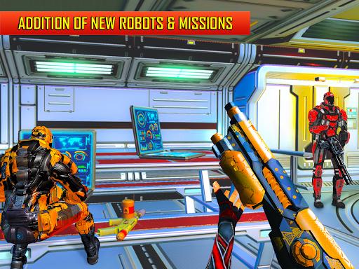 Robot Shooting FPS Counter War Terrorists Shooter v2.8 screenshots 9
