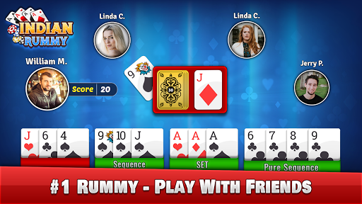 Rummy – Play Indian Rummy Game Online Free Cards v7.9 screenshots 1