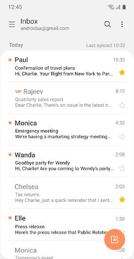 Samsung Email v6.1.42.0 screenshots 2