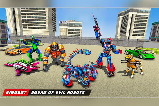 Scorpion Robot Transforming Robot shooting games v1.11 screenshots 11