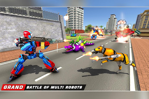 Scorpion Robot Transforming Robot shooting games v1.11 screenshots 12