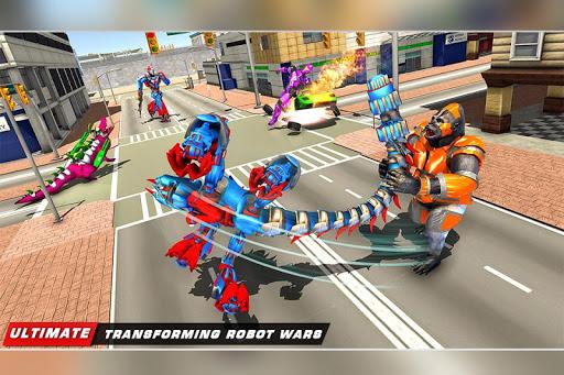 Scorpion Robot Transforming Robot shooting games v1.11 screenshots 5