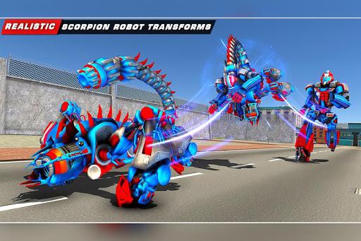 Scorpion Robot Transforming Robot shooting games v1.11 screenshots 9