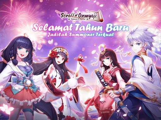 Scroll of Onmyoji Sakura amp Sword v19.1.7 screenshots 8