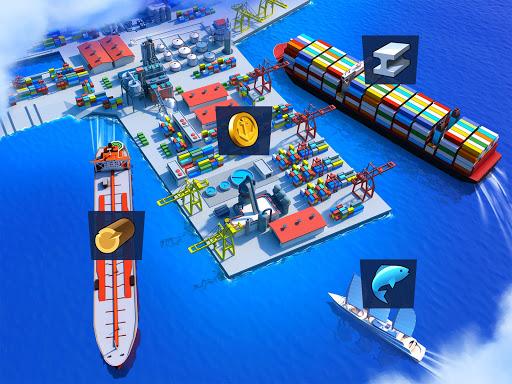 Sea Port Ship Simulator amp Strategy Tycoon Game v1.0.178 screenshots 11