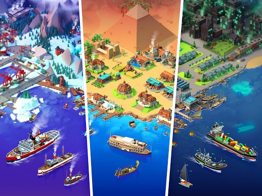 Sea Port Ship Simulator amp Strategy Tycoon Game v1.0.178 screenshots 15