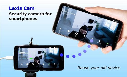 Security camera for smartphones Lexis Cam v1.2.93 screenshots 1