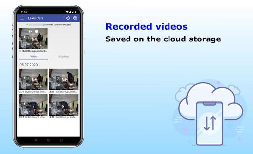 Security camera for smartphones Lexis Cam v1.2.93 screenshots 2