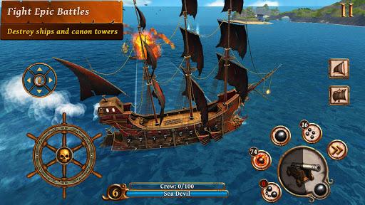 Ships of Battle – Age of Pirates – Warship Battle v2.6.28 screenshots 1